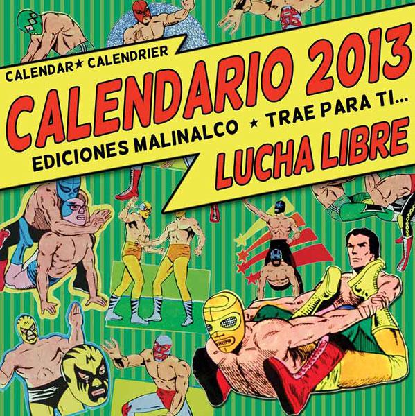Lucha libre calendar