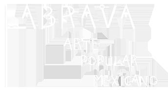 LABRAVA [メキシコ フォークアート 雑貨 ] 東京・吉祥寺 ロゴ 白大