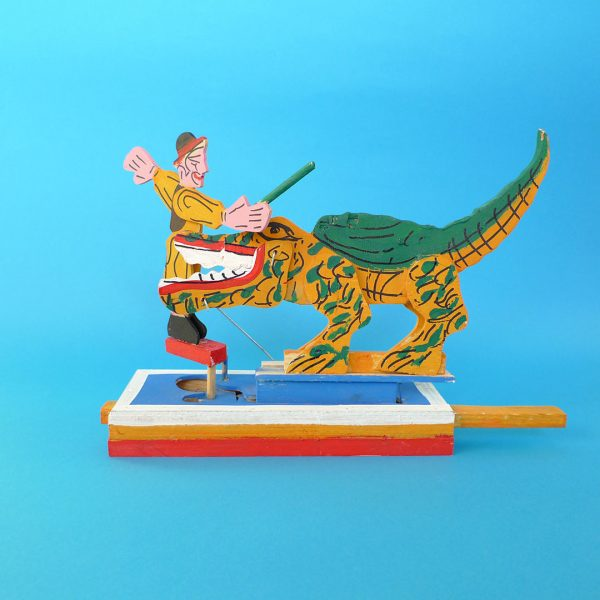 メキシコ伝統玩具 グメルシンドエスパーニャ ワニ調教師