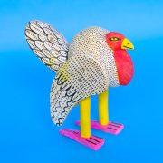 オアハカ ウッドカービング 七面鳥