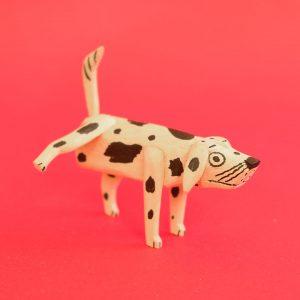 オアハカ ウッドカービング マルティン サンティアーゴ おしっこ犬
