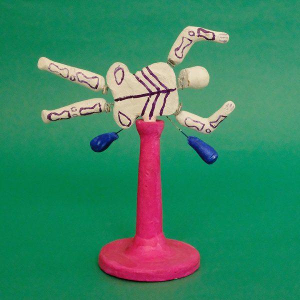メテペック ガイコツ おもちゃ