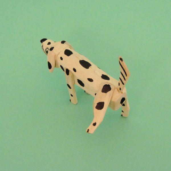 オアハカ ウッドカービング マルティンサンティアーゴ おしっこ犬