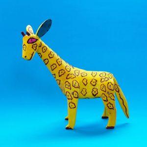 メキシコ ウッドカーヴィング キリン
