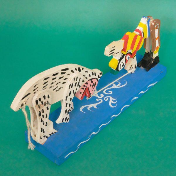 メキシコ 郷土玩具 ピエロ シロクマ