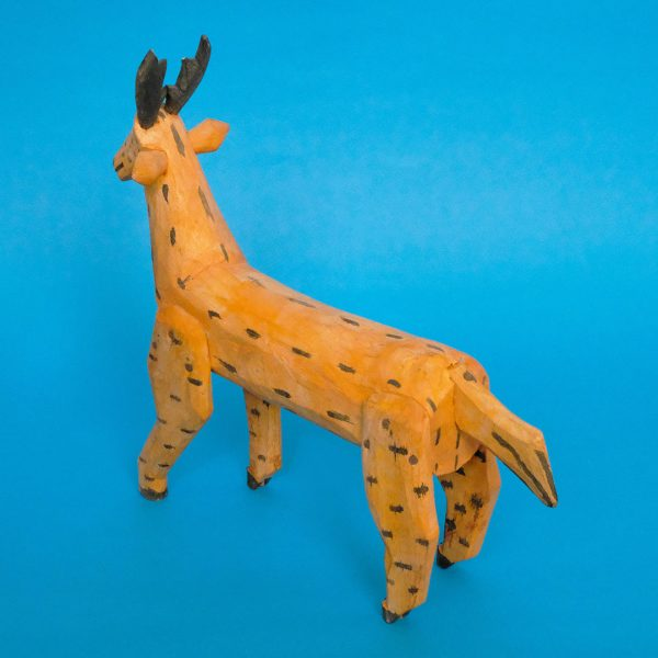 ヴィンテージ オアハカ ウッドカービング 鹿