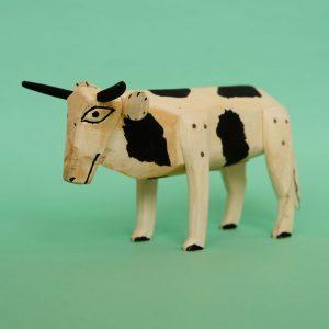 オアハカ 木彫り 牛