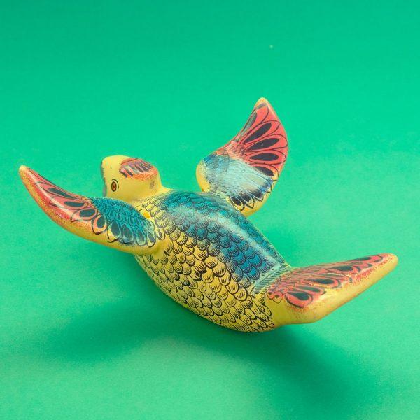 オリナラ 塗り物 テマラカツィンゴ 鳥