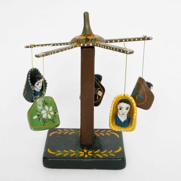 メキシコ 伝統玩具 回転ブランコ テマラカツィンゴ