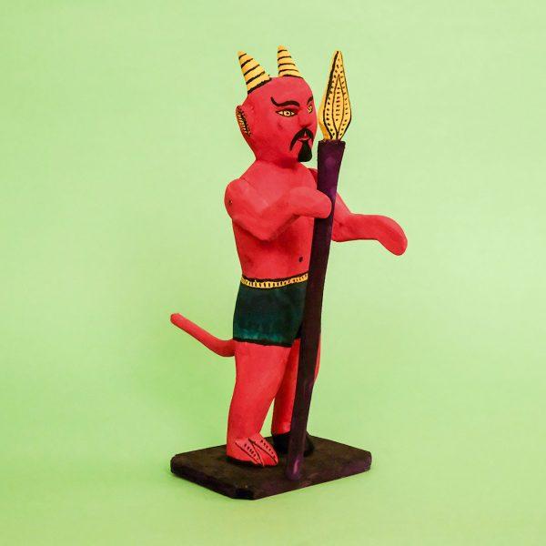 オアハカ ウッドカービング 悪魔