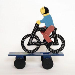 メキシコ 民芸玩具 自転車おもちゃ