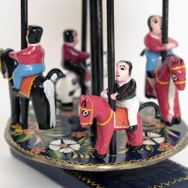 メキシコ 民芸玩具 メリーゴーランド