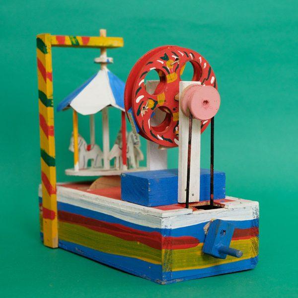 メキシコ 民芸玩具 グメルシンド エスパーニャ からくり遊園地
