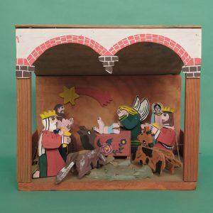 メキシコ 民芸玩具 フェリーペ ゴメス からくり ナシミエント