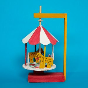 メキシコ 民芸玩具 グメルシンド エスパーニャ メリーゴーランド