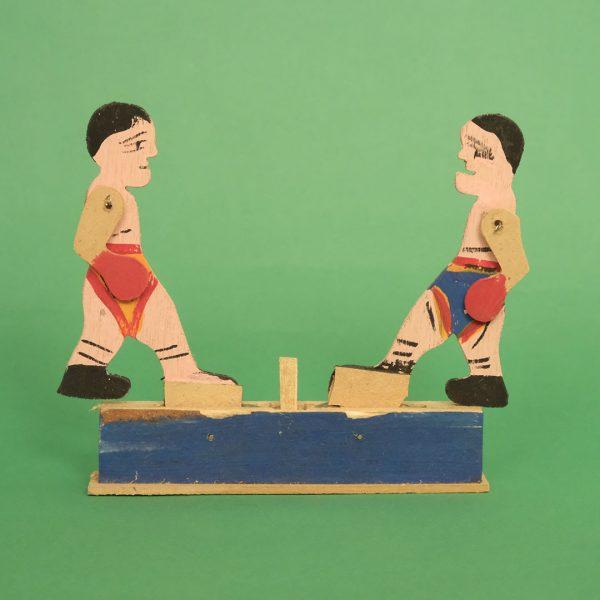 メキシコ 民芸玩具 ボクシング