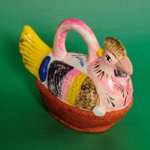 メテペック メキシコ民芸 雌鶏