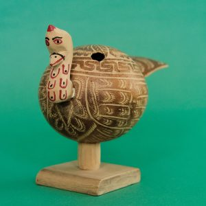 椰子の実 細工 七面鳥 ピノテパ デ ドン ルイス