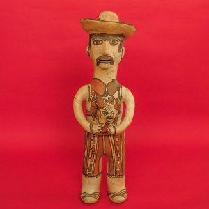 ゲレロ州 オアパン 陶人形