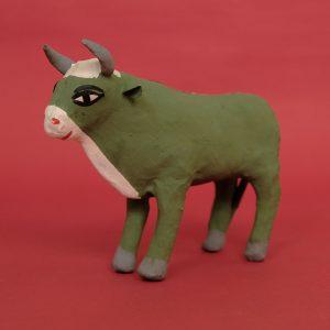 張り子 牛