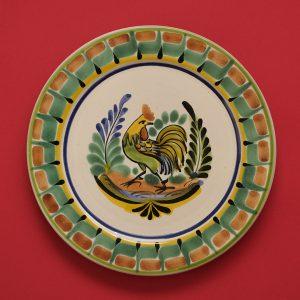 マジョリカ焼 21cm 絵皿
